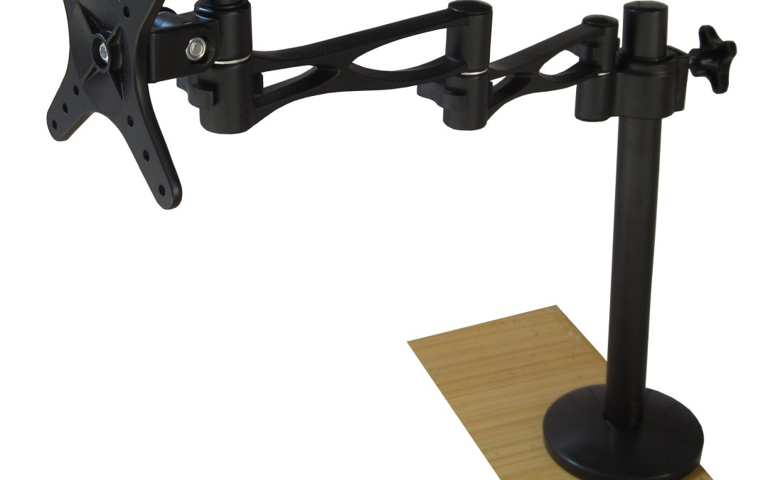 How to Install a Monitor Desktop Mount?