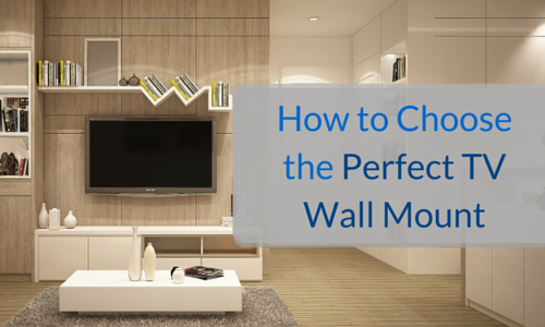 how to choose the perfect tv wall mount speed s singapore. Black Bedroom Furniture Sets. Home Design Ideas