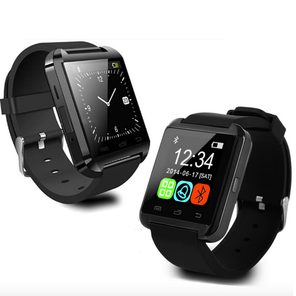 U8 Bluetooth Smart Watch For Android Amp Iphone Tv Wall