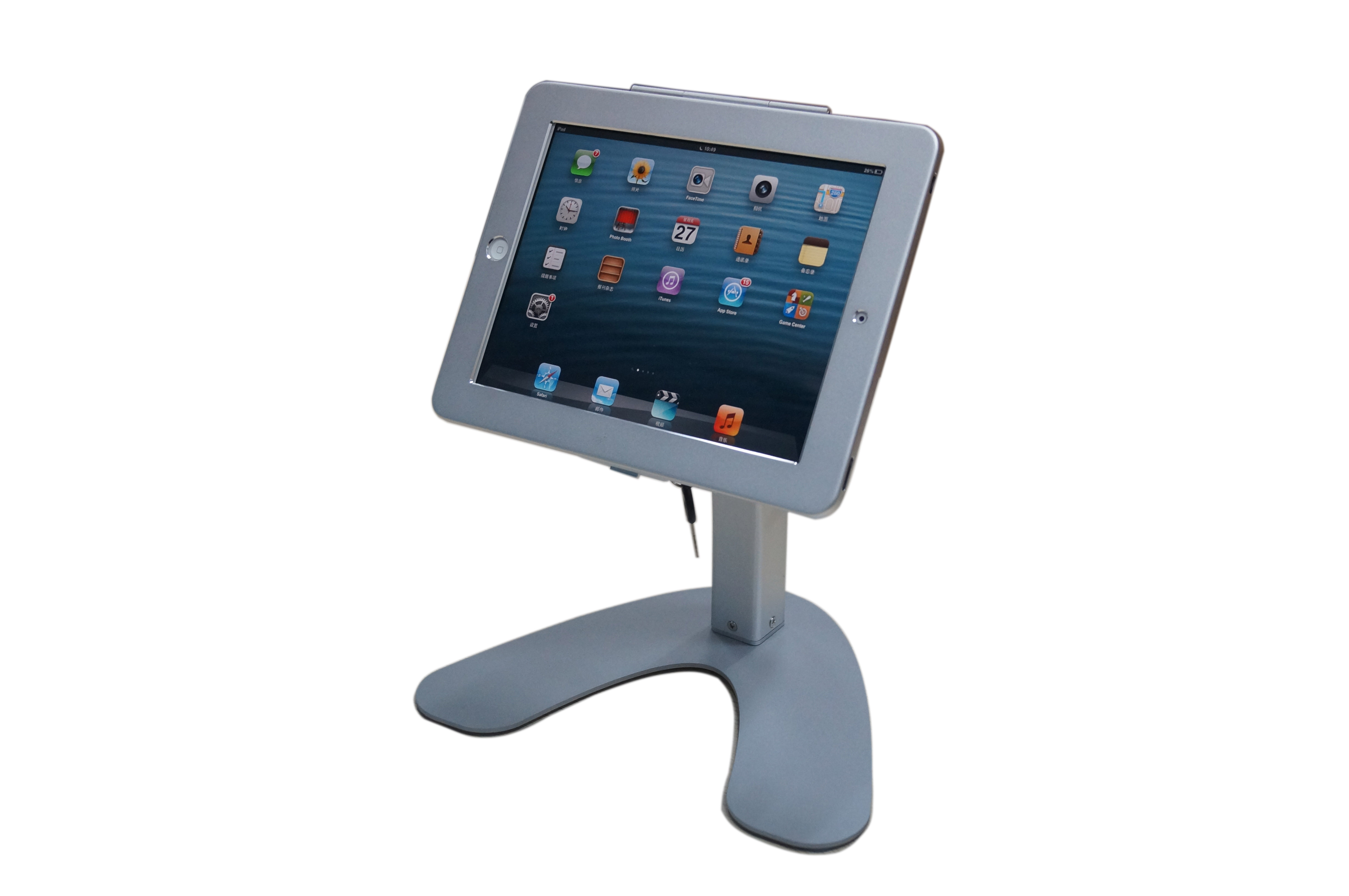 P9 Ipad Desktop Stand With Lock Tv Wall Mount Tv