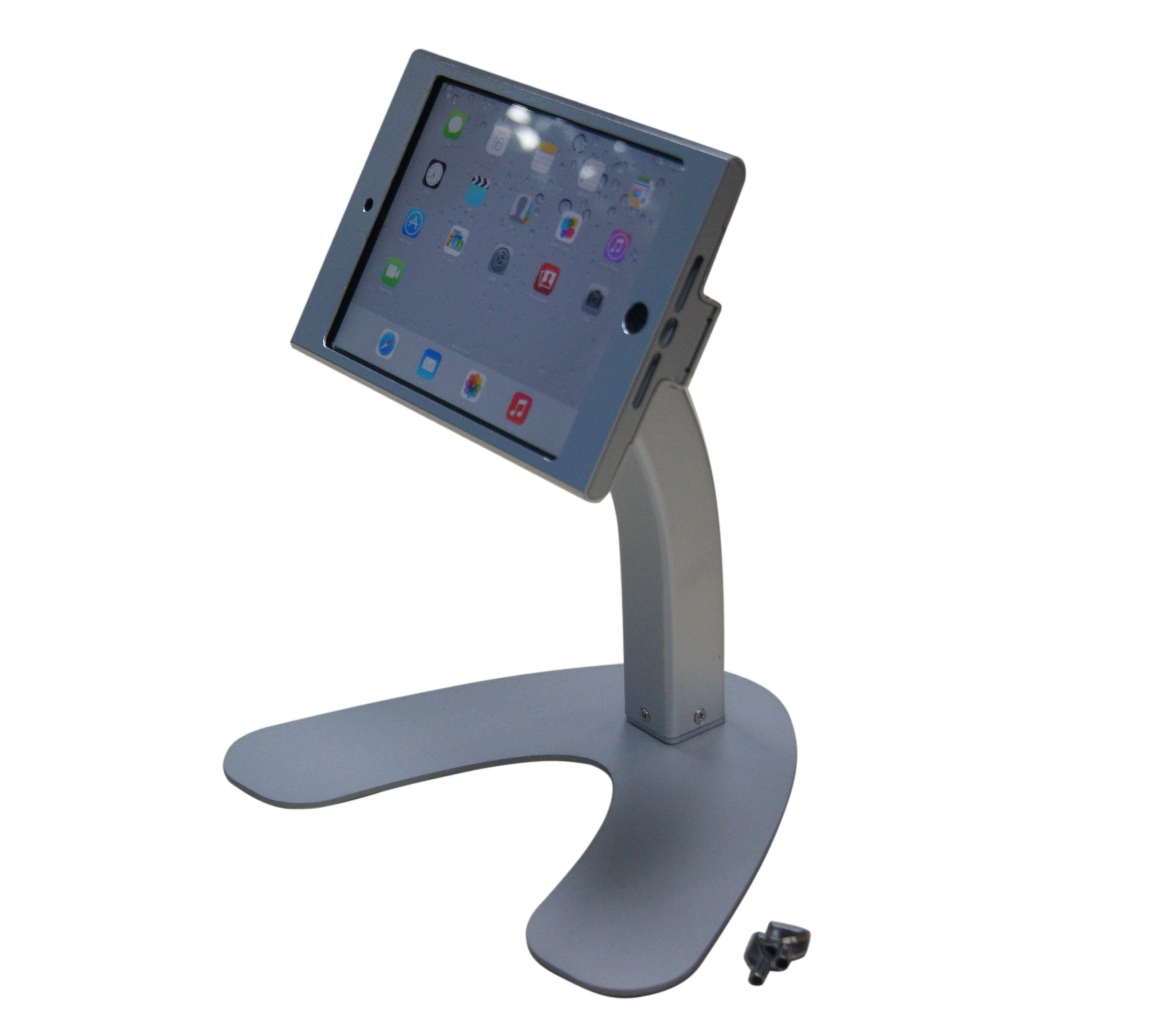 P9m Ipad Mini Desktop Stand With Lock Tv Wall Mount