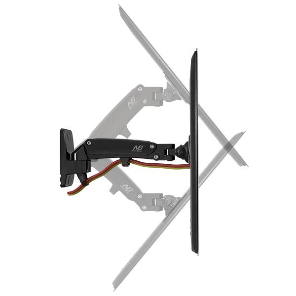 F120 Gas Strut Monitor Tv Wall Mount For Tv Below 27