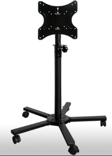 Em102 Ps0037b Tv Monitor Stand Mobile Cart For Display