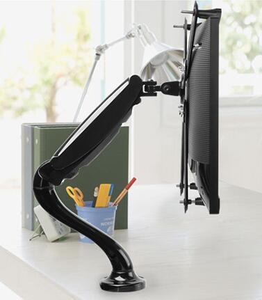 F90 Desktop Gas Strut Monitor Mount For Non Vesa