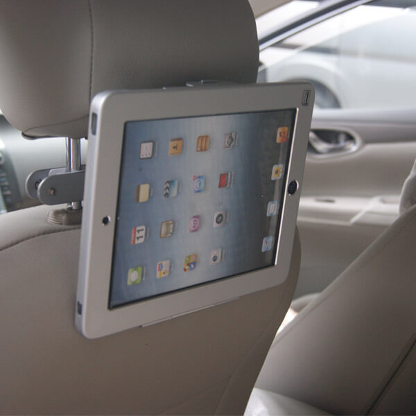 24002 Ipad Tablet Car Headrest Mount With Lock Tv Wall