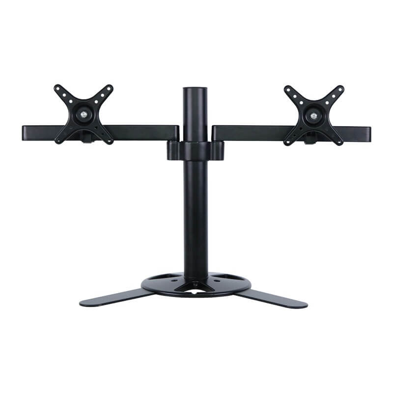 Avr224v Dual Arm Monitor Desk Mount For Up To 27 With Free Standing