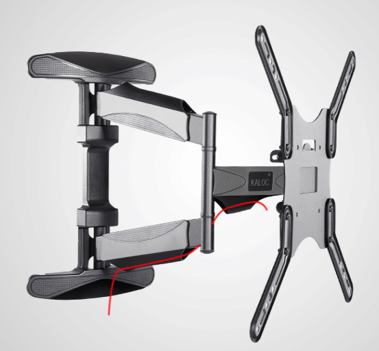 L300 Full Motion Tv Mount For Tvs Up To 60 Quot Turn 90