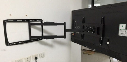 W11 Full Motion Tv Wall Mount For Display Up To 65