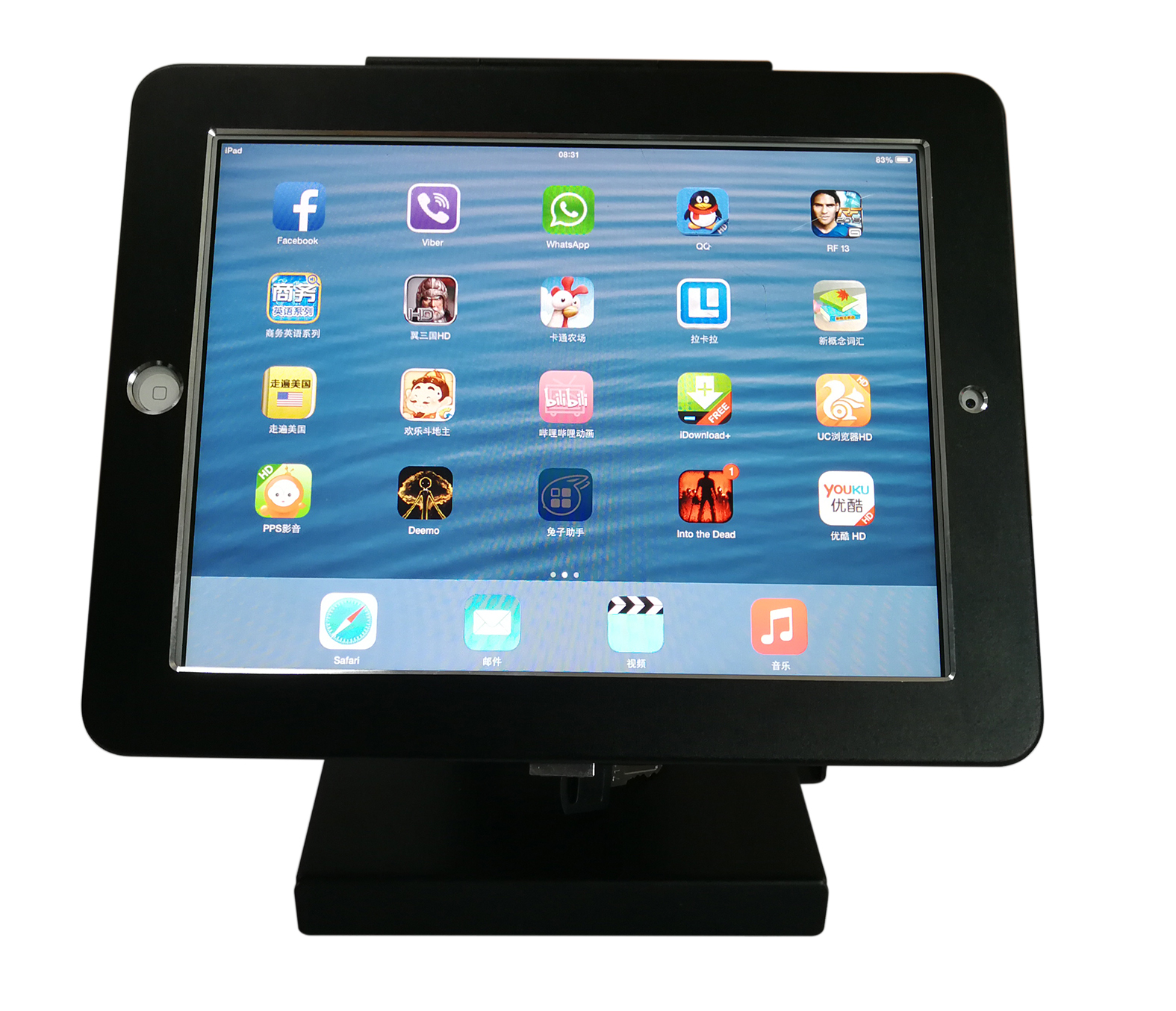 28004 Tablet Desktop Stand Foldable Tv Wall Mount Tv