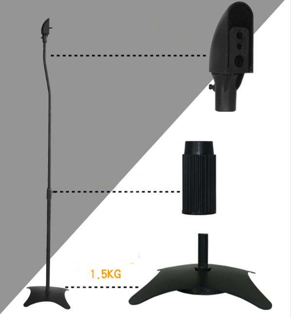 st01 speaker stand mount universal tv wall mount tv bracket singapore speed s. Black Bedroom Furniture Sets. Home Design Ideas